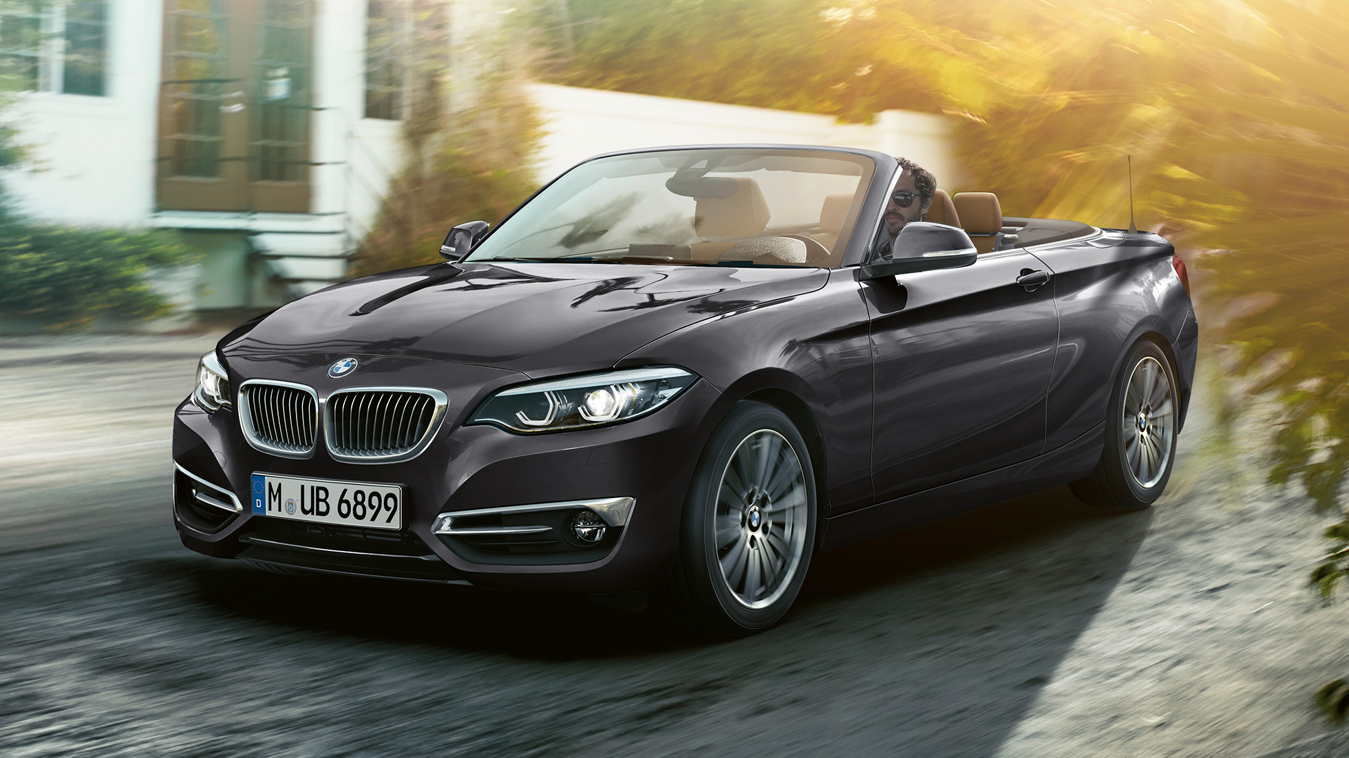 BMW 2 Series Convertible, front design